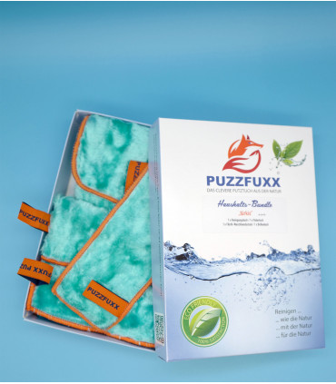 Haushalts-Bundle PUZZFUXX ® türkis